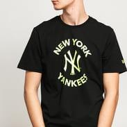 New Era MLB Tee NY černé / neon zelené