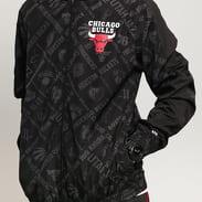New Era NBA AOP Track Bulls černá / tmavě šedá
