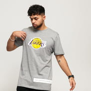 New Era NBA Block Wordmark LA Lakers melange šedé
