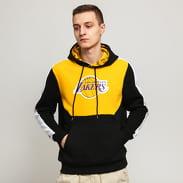 New Era NBA Colour Block Hoody LA Lakers žlutá / černá