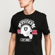 New Era NFL Graphic Helmet Raiders černé