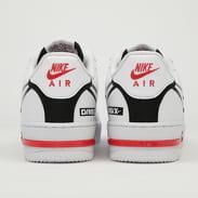 Nike Air Force 1 React white / black - university red