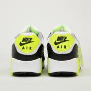 Nike Air Max 90 white / particle grey - volt - black