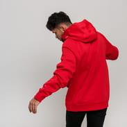Nike M NSW Swoosh Hoodie PO BB červená