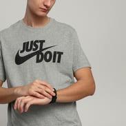 Nike M NSW Tee Just Do It Swoosh melange šedé
