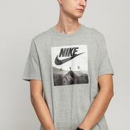 Nike M NSW Tee Nike Air Photo melange šedé