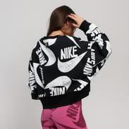 Nike W NSW Icon Clash Fleece Crew černá / bílá