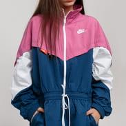 Nike W NSW Icon Clash Track Jacket světle fialová / tmavě tyrkysová