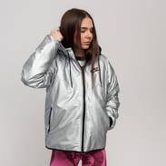 Nike W NSW Syn Fill WR Jacket MTL stříbrná
