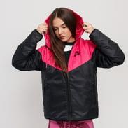 Nike W NSW Synthetic Fill Windrunner Jacket tmavě růžová / černá