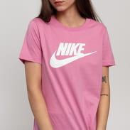 Nike W NSW Tee Essential Icon Fut tmavě růžové