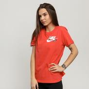 Nike W NSW Tee Novel-Tee 3 světle červené