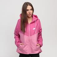 Nike W NSW Windrunner Jacket světle fialová / růžová