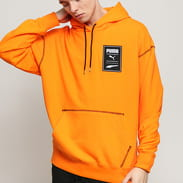 Puma Recheck Pack Graphic Hoodie oranžová