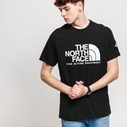 The North Face M SS Fine Alp Tee 2 černé / bílé