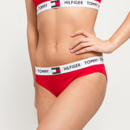 Tommy Hilfiger Bikini - Slip C/O červené / biele