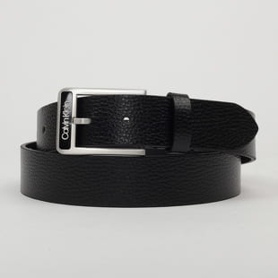 CALVIN KLEIN JEANS Enamel Buckle Pebble Belt