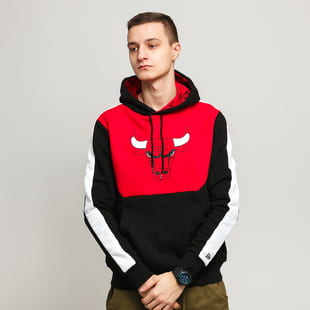 New Era NBA Colour Block Hoody Bulls