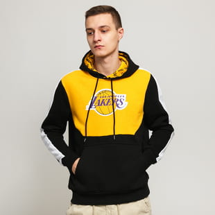 New Era NBA Colour Block Hoody LA Lakers