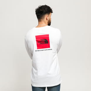 The North Face M LS Red Box Tee
