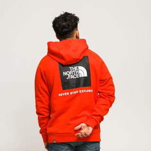 The North Face M Raglen Red Box Hoody