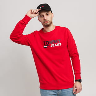 TOMMY JEANS M Corp Logo Crew