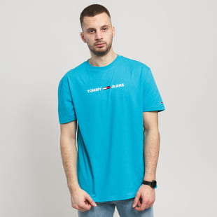 TOMMY JEANS M Straight Small Logo Tee