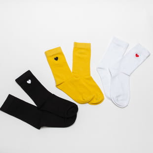 Urban Classics Heart Socks 3-Pack