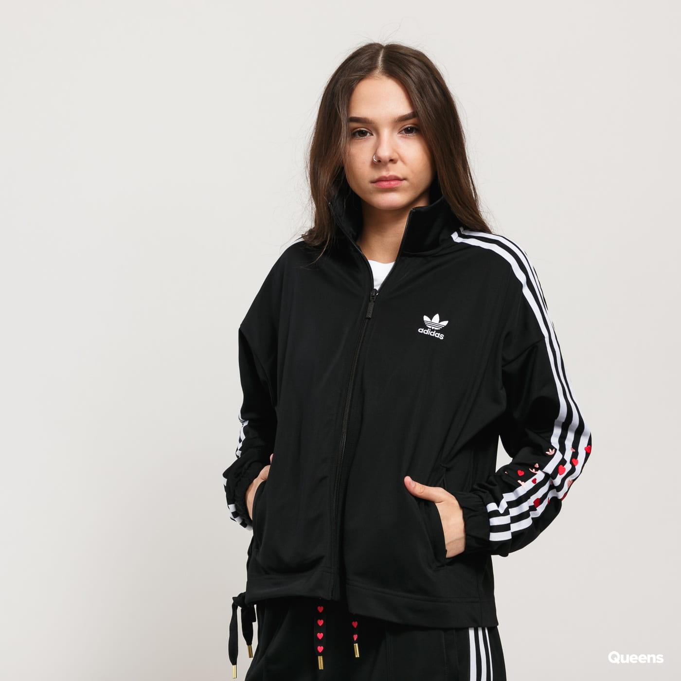 womens adidas originals track top cheap online