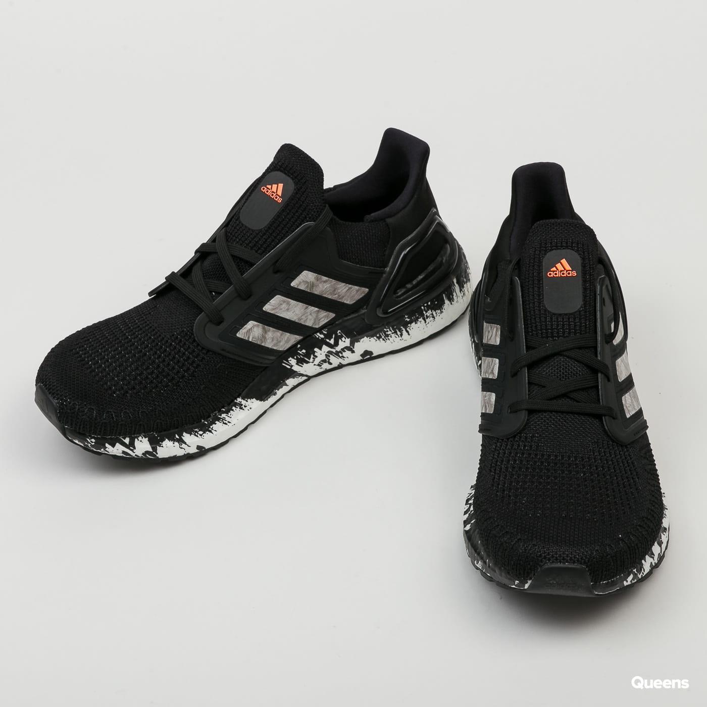 adidas Performance Ultraboost 20 cblack / cloud white / signal coral