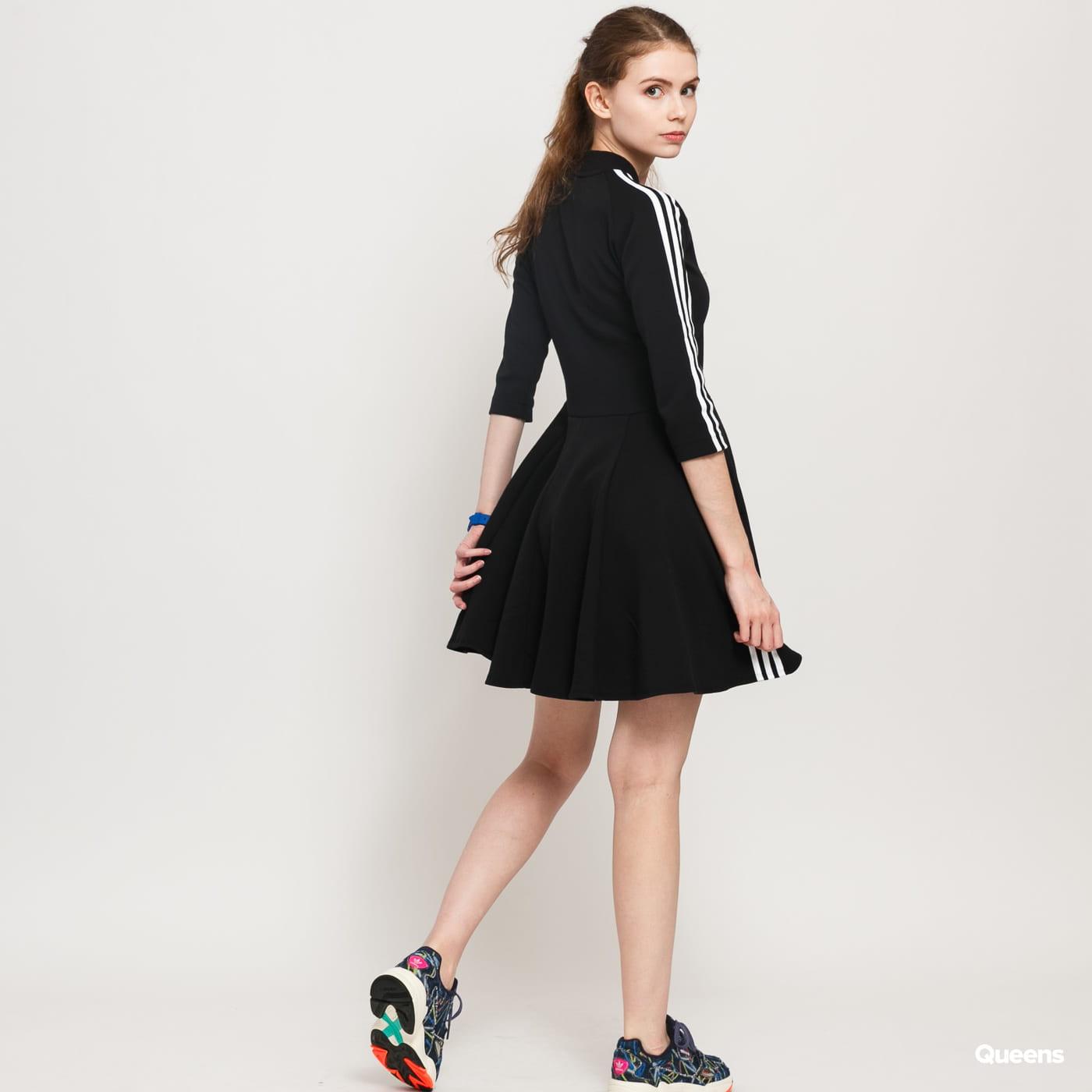 Grillo Mariscos entre  Dress adidas Performance W 3 Stripes Dress black (FL6901) – Queens 💚