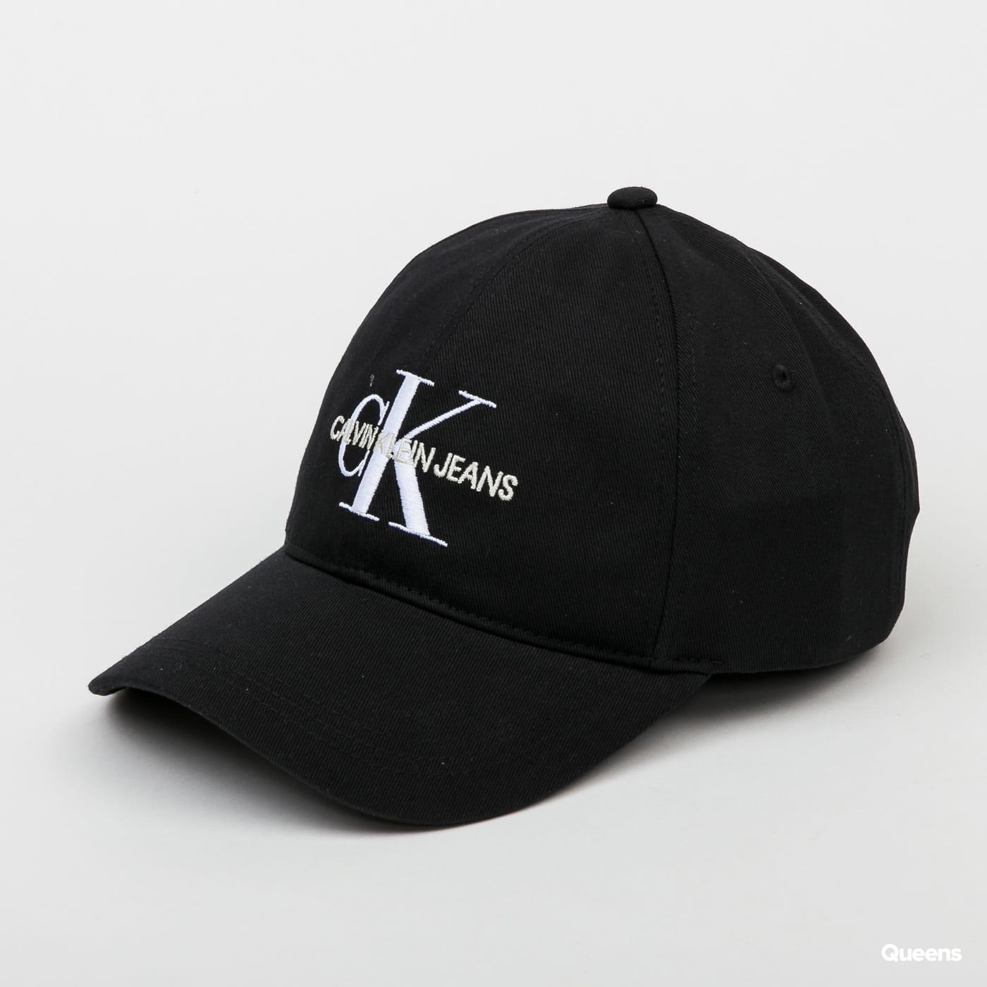 CALVIN KLEIN JEANS Monogram Cap black