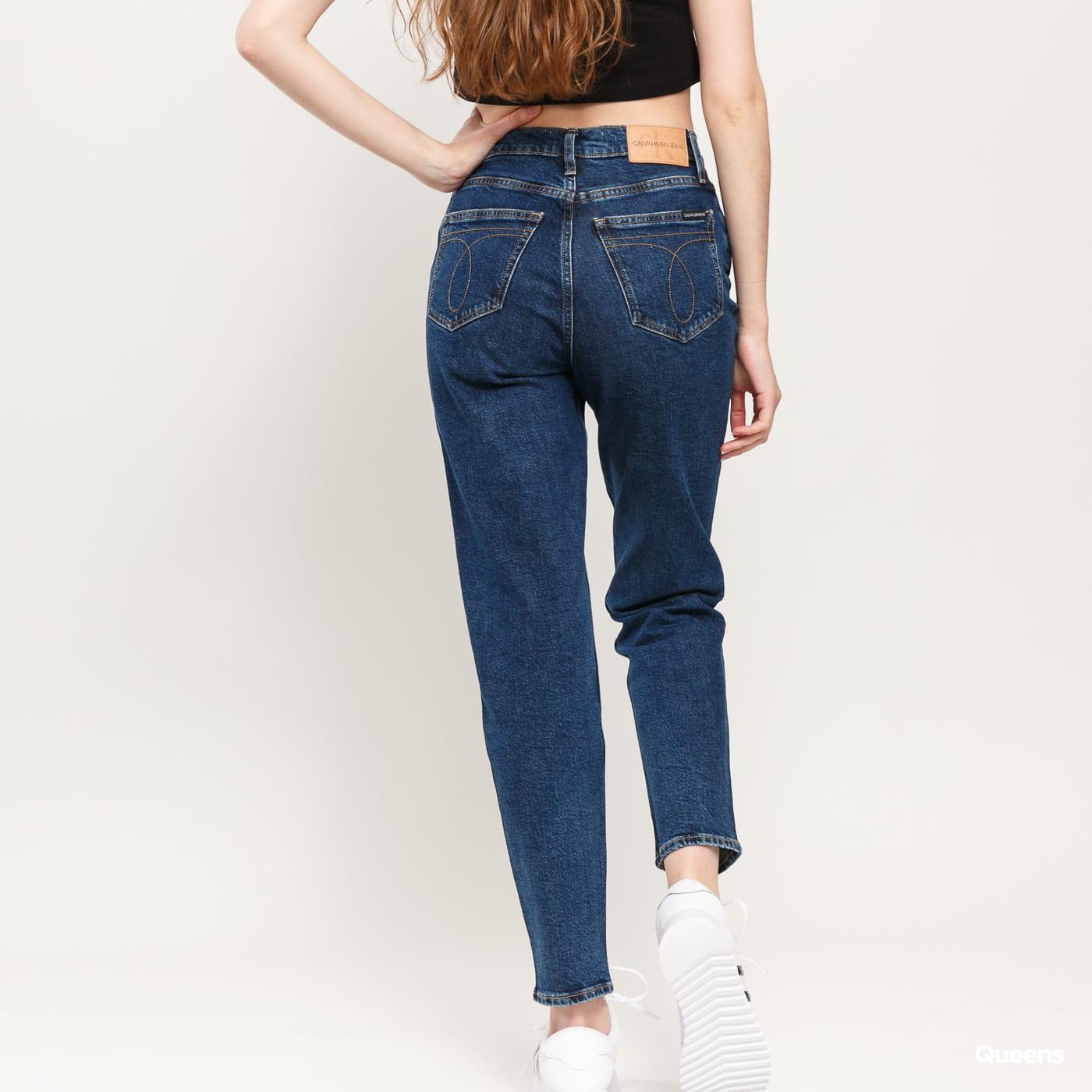 CALVIN KLEIN JEANS W Mom Jeans da130 dark blue stone shank icn