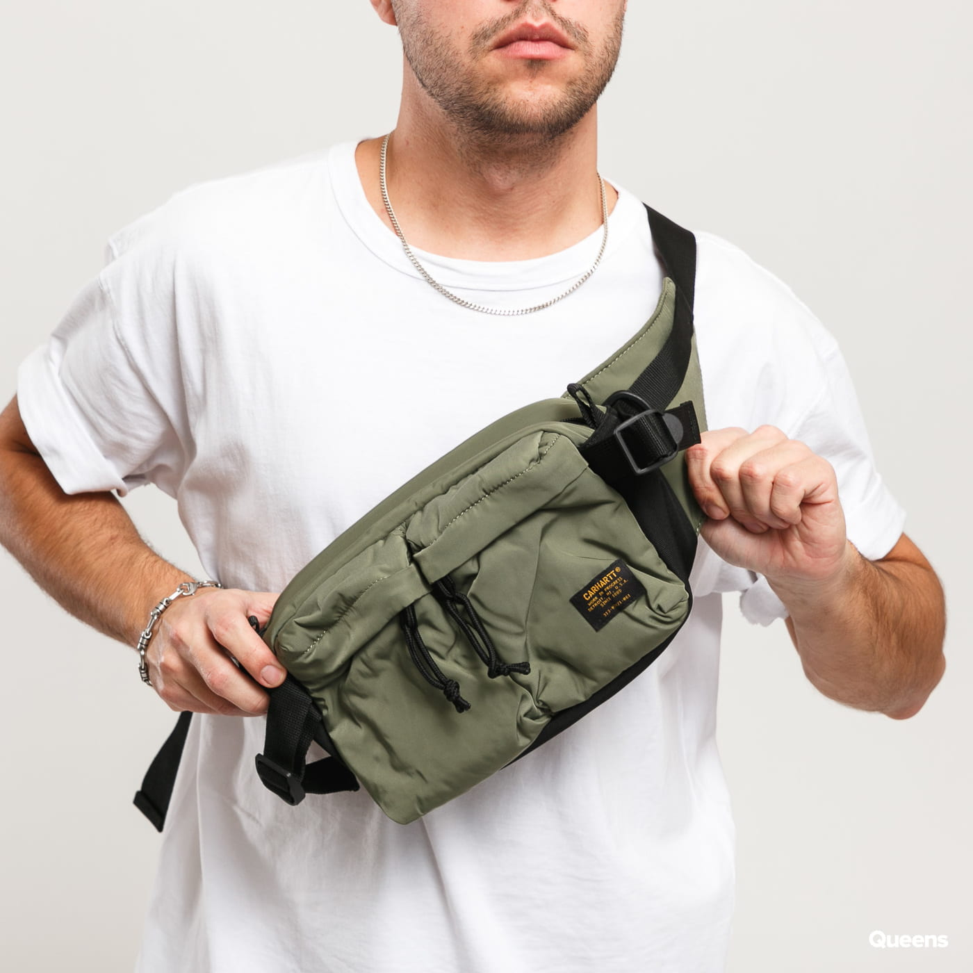 Carhartt WIP Military Hip Bag olive / black
