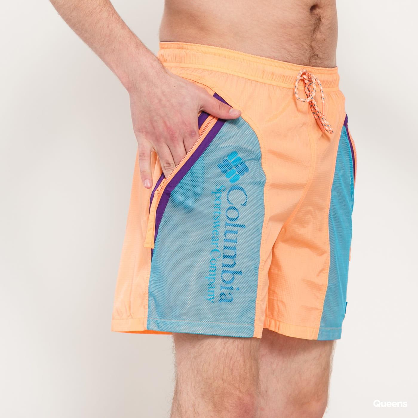 Columbia Riptide Short oranžové / tyrkysové
