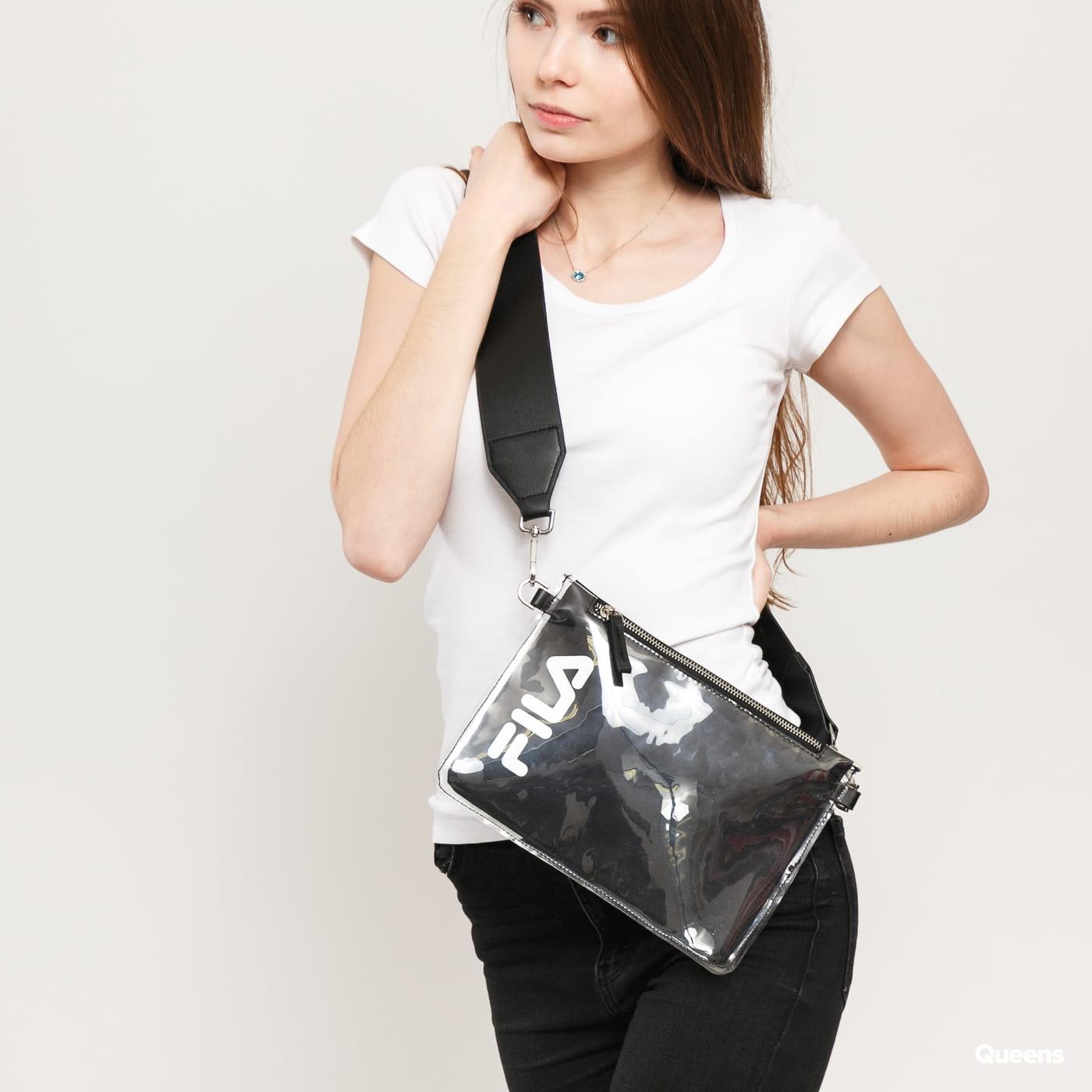 Fila Transparent Cross Body Bag schwarz