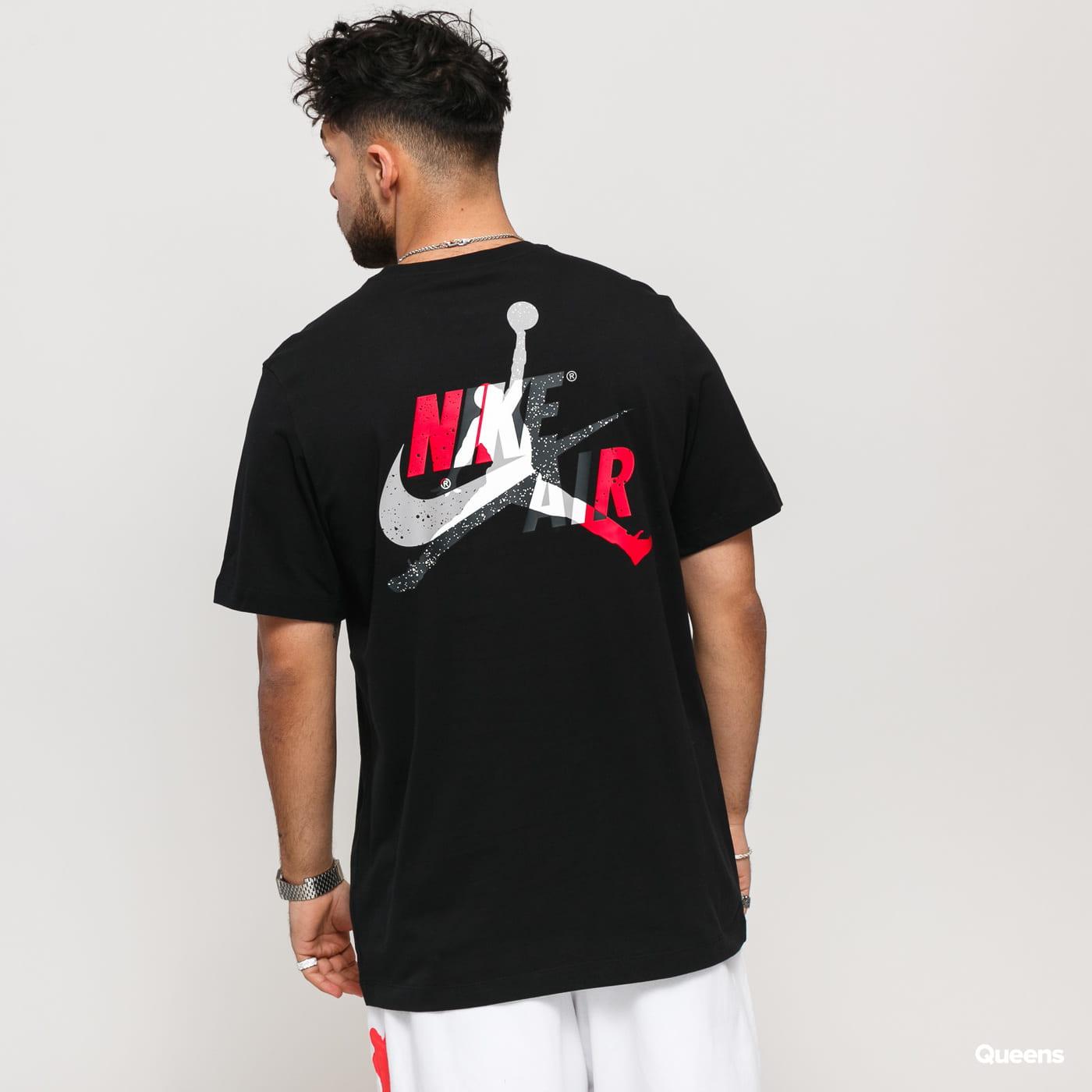 Jordan M J Jumpman Classics Graphic Tee black