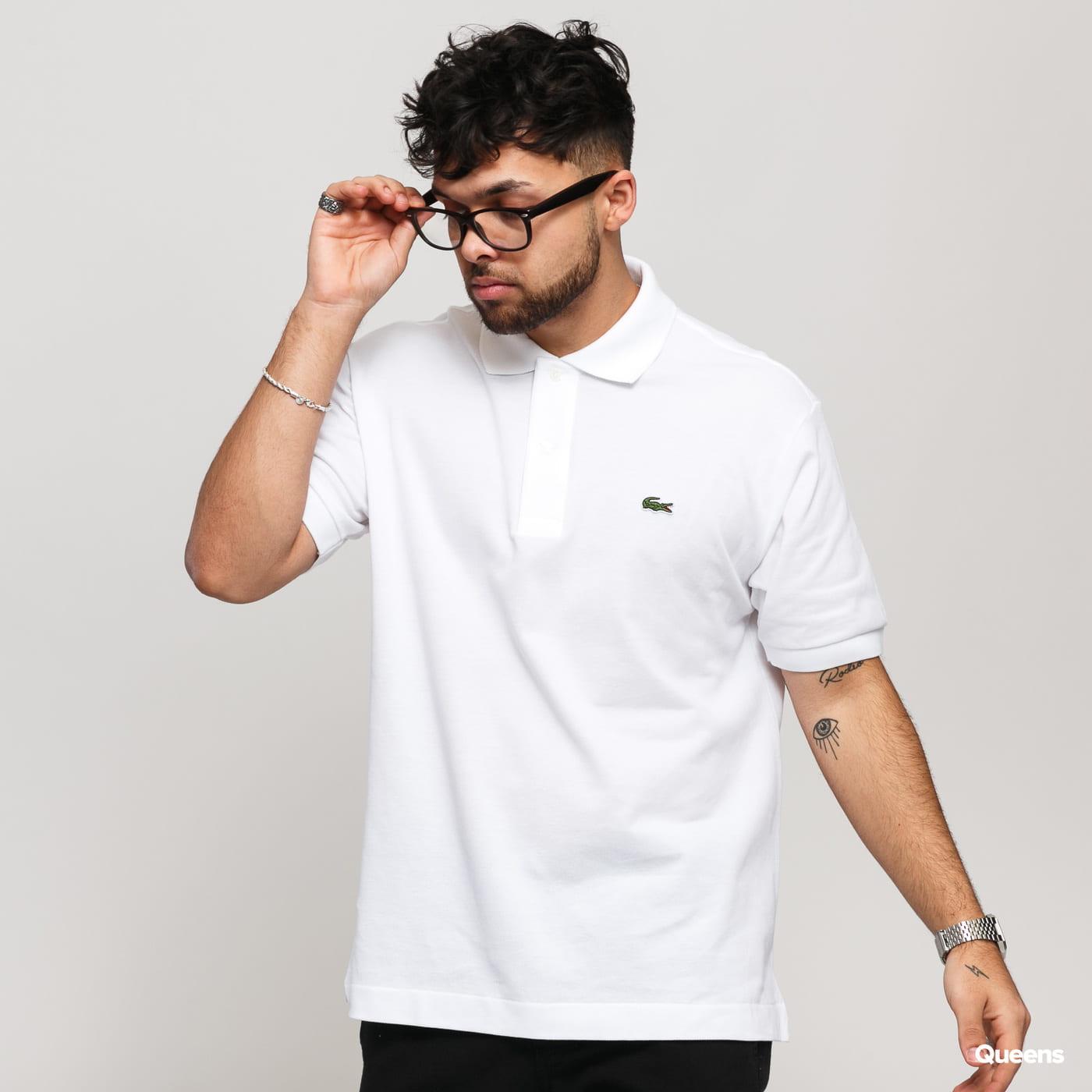 LACOSTE Men's Polo T-Shirt biele
