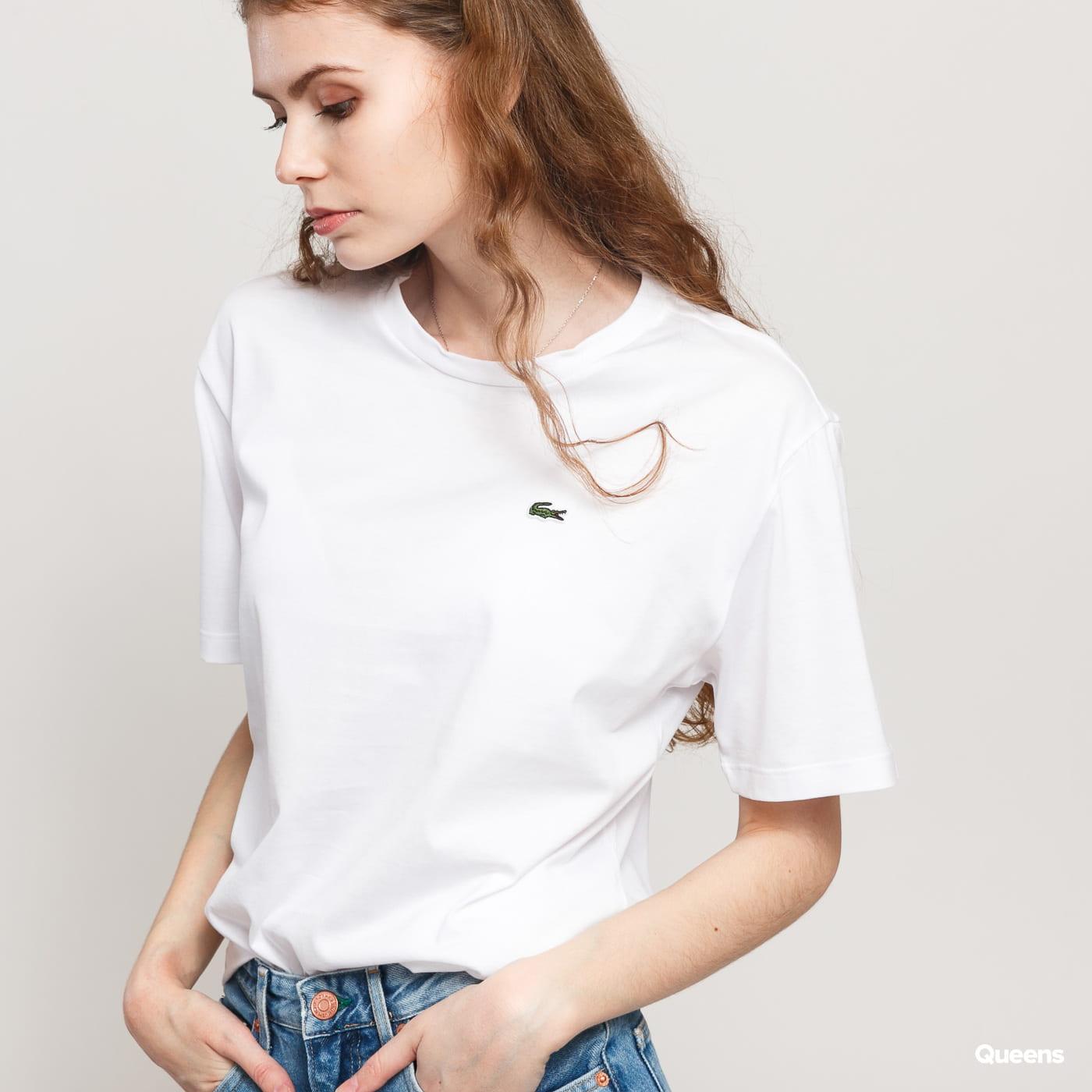 LACOSTE Women's T-Shirt blue / turquoise