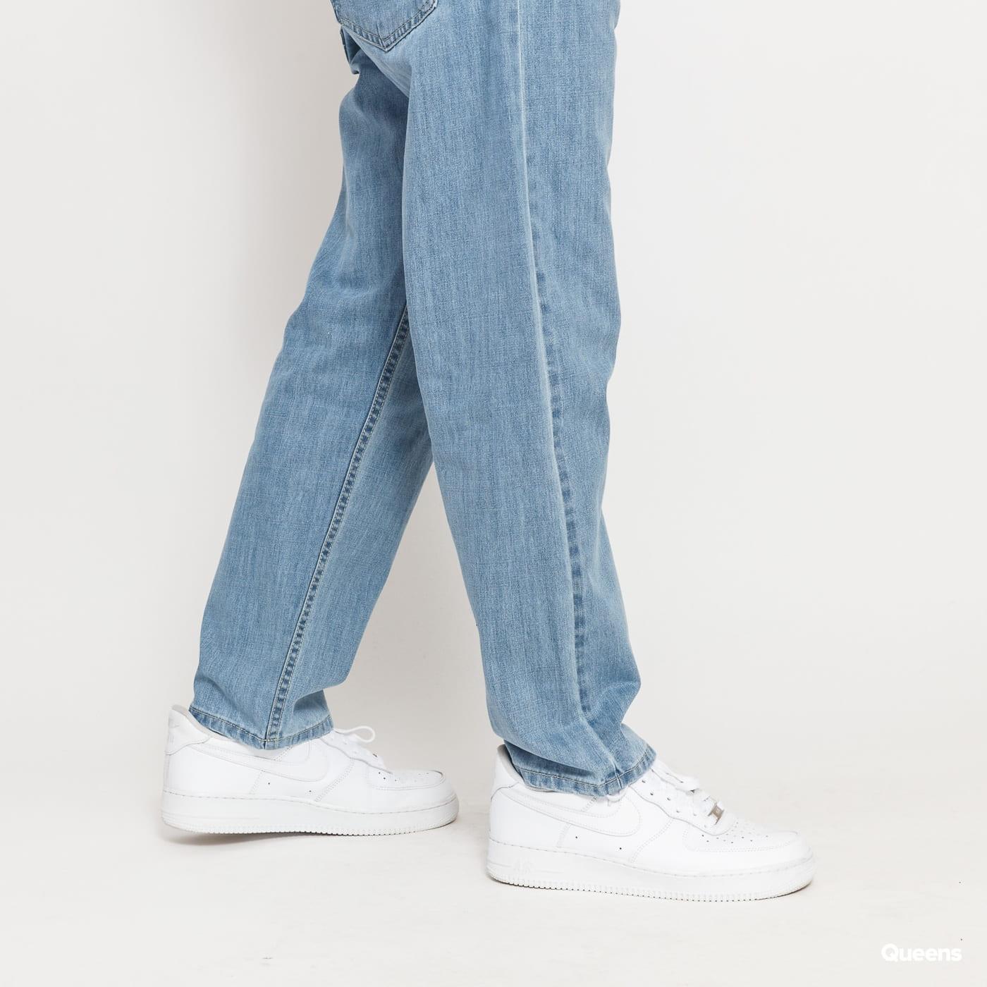 Mass DNM Slang Baggy Fit Jeans light blue