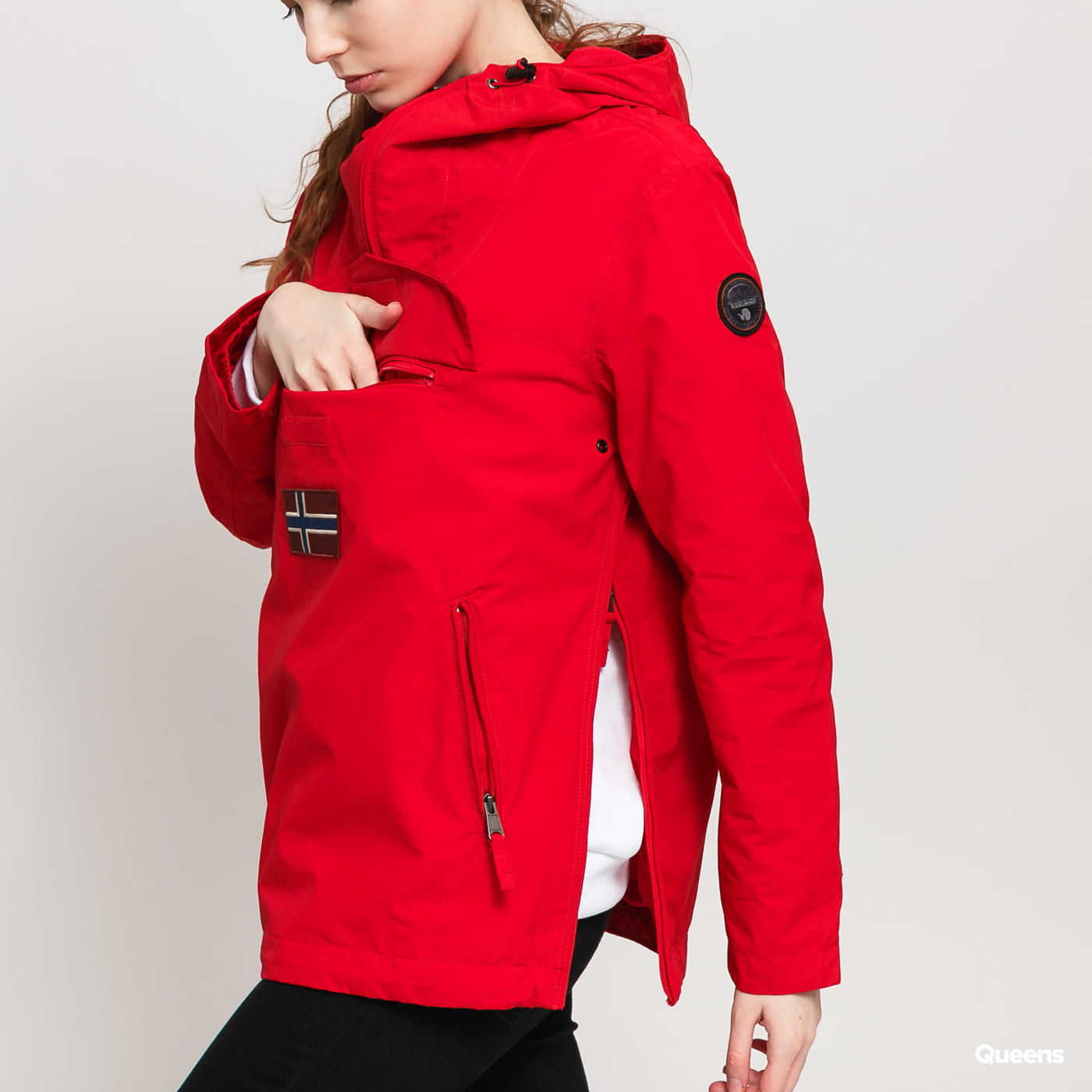 NAPAPIJRI Rainforest Pocket W red