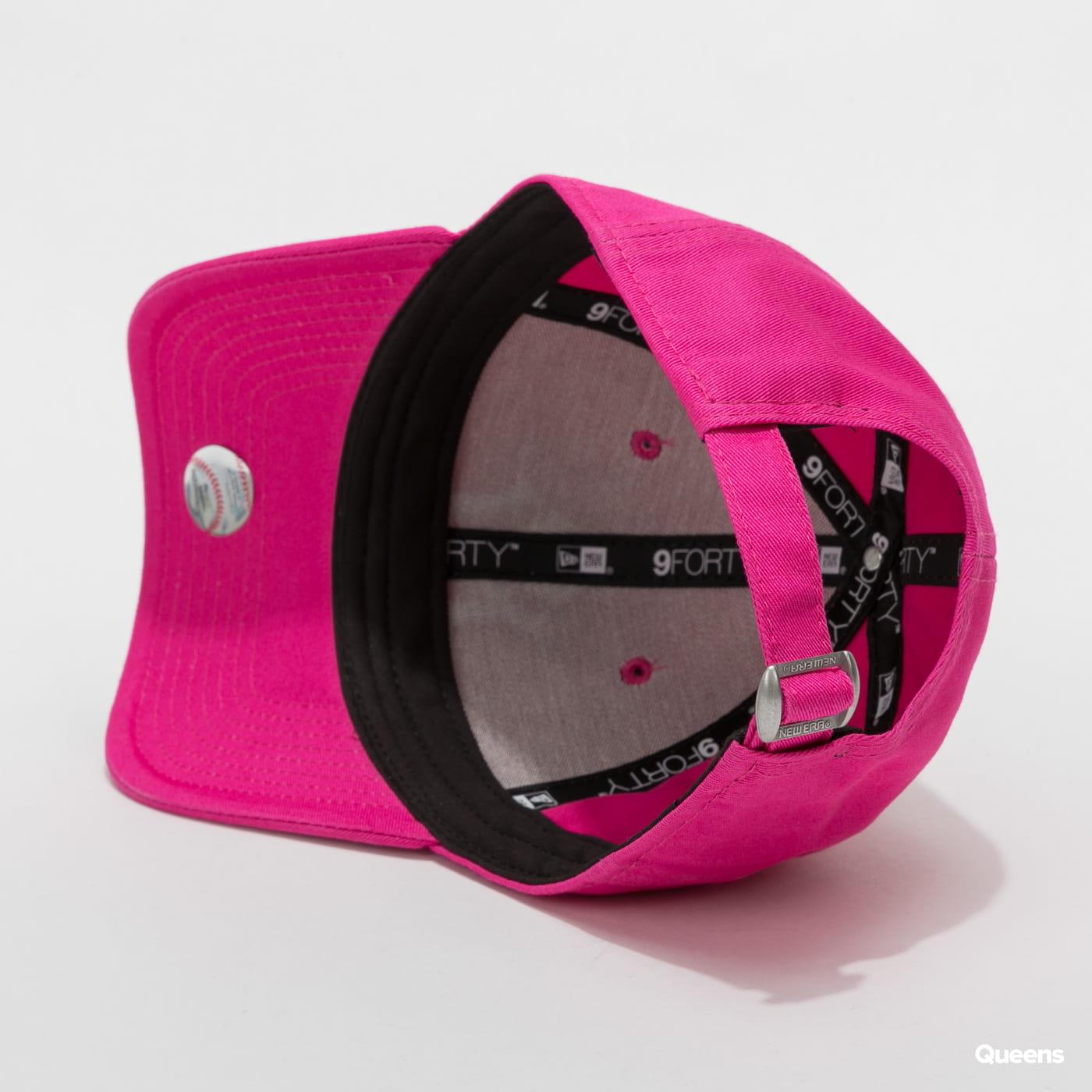 New Era 940W Fashion Essential NY C/O tmavě růžová