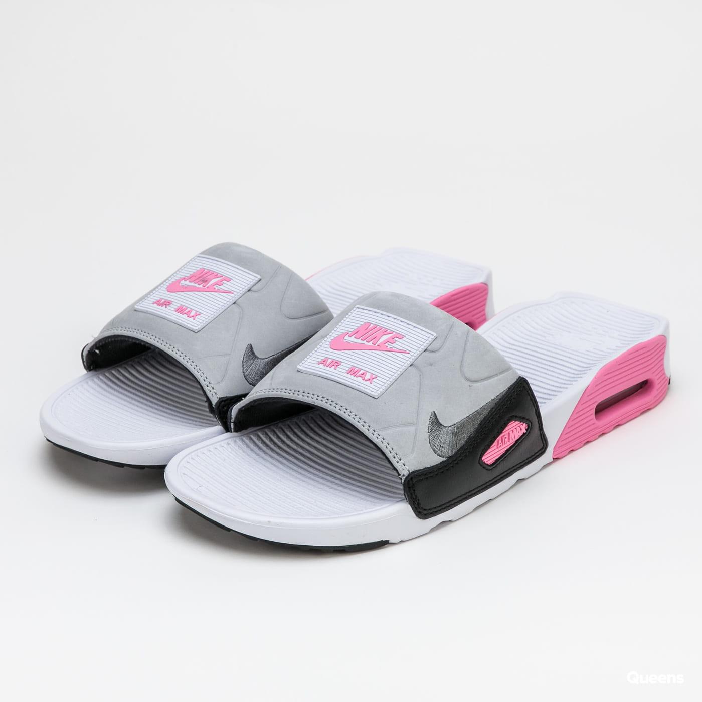 air max 90 slide rose et gris
