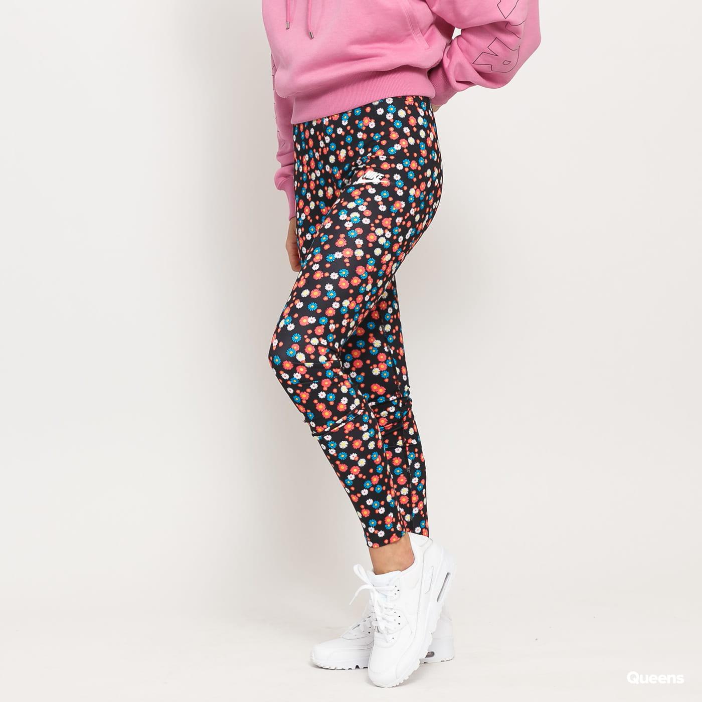 Nike W NSW Heritage Legging Floral black / multicolor