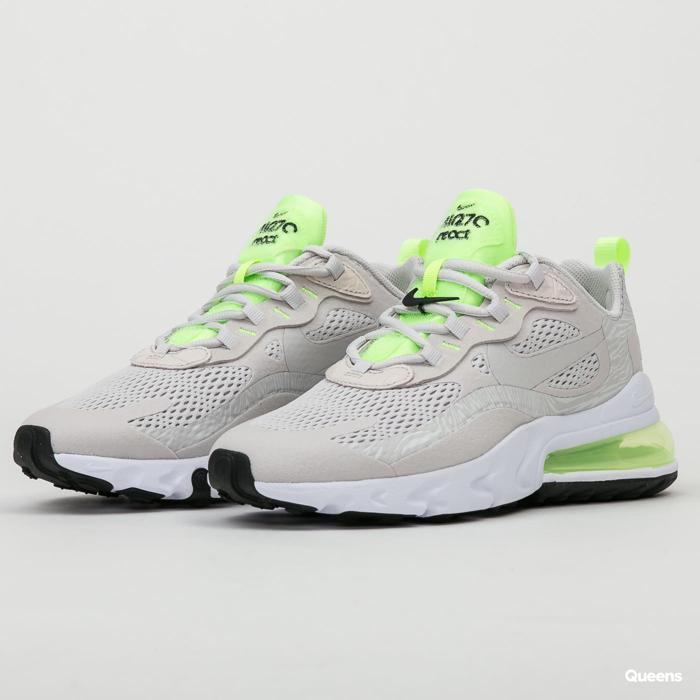 Nike Wmns Air Max 270 React Vast Grey Vast Grey Cu3447 001