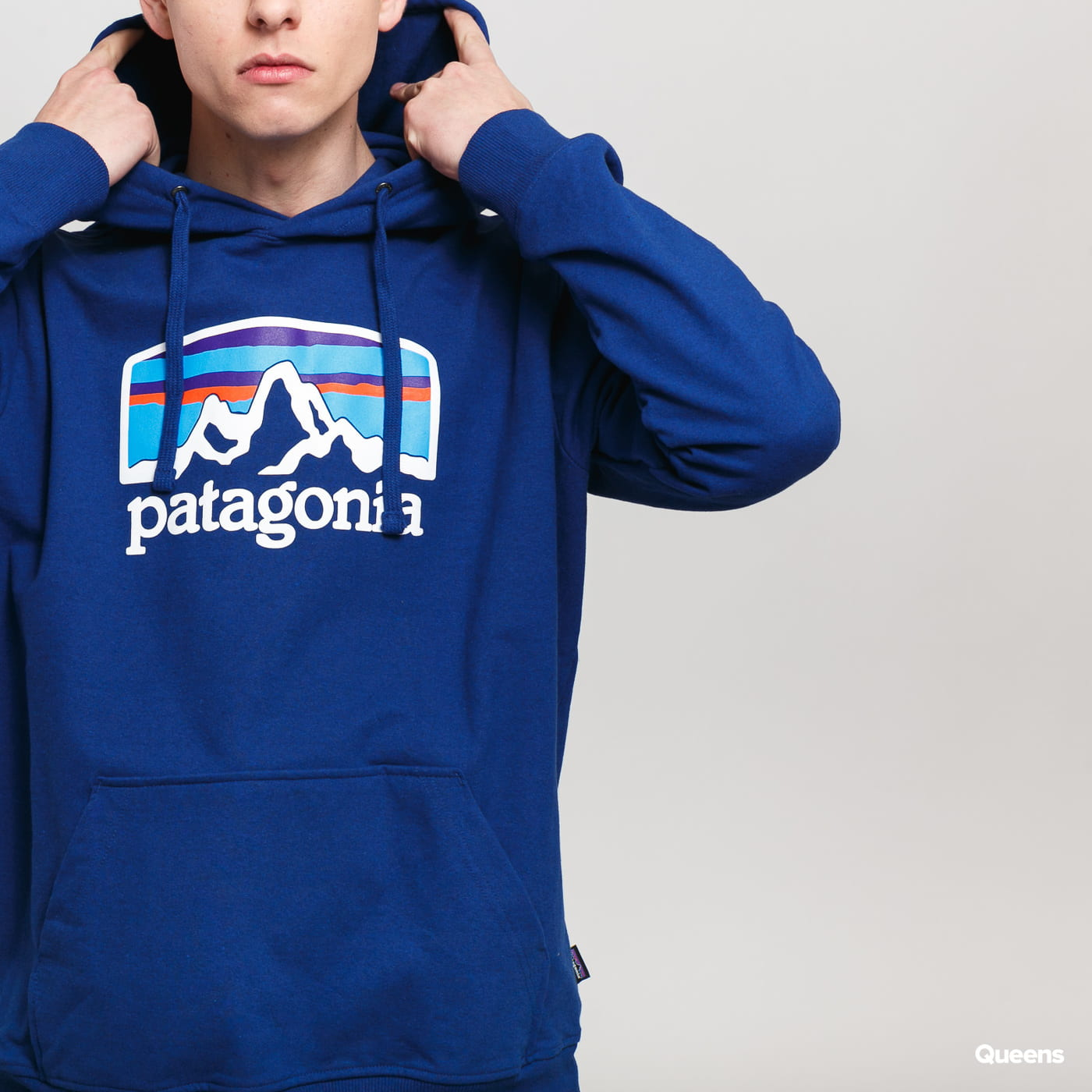 Patagonia M's Fitz Roy Horizons Uprisal Hoodie dunkelblau