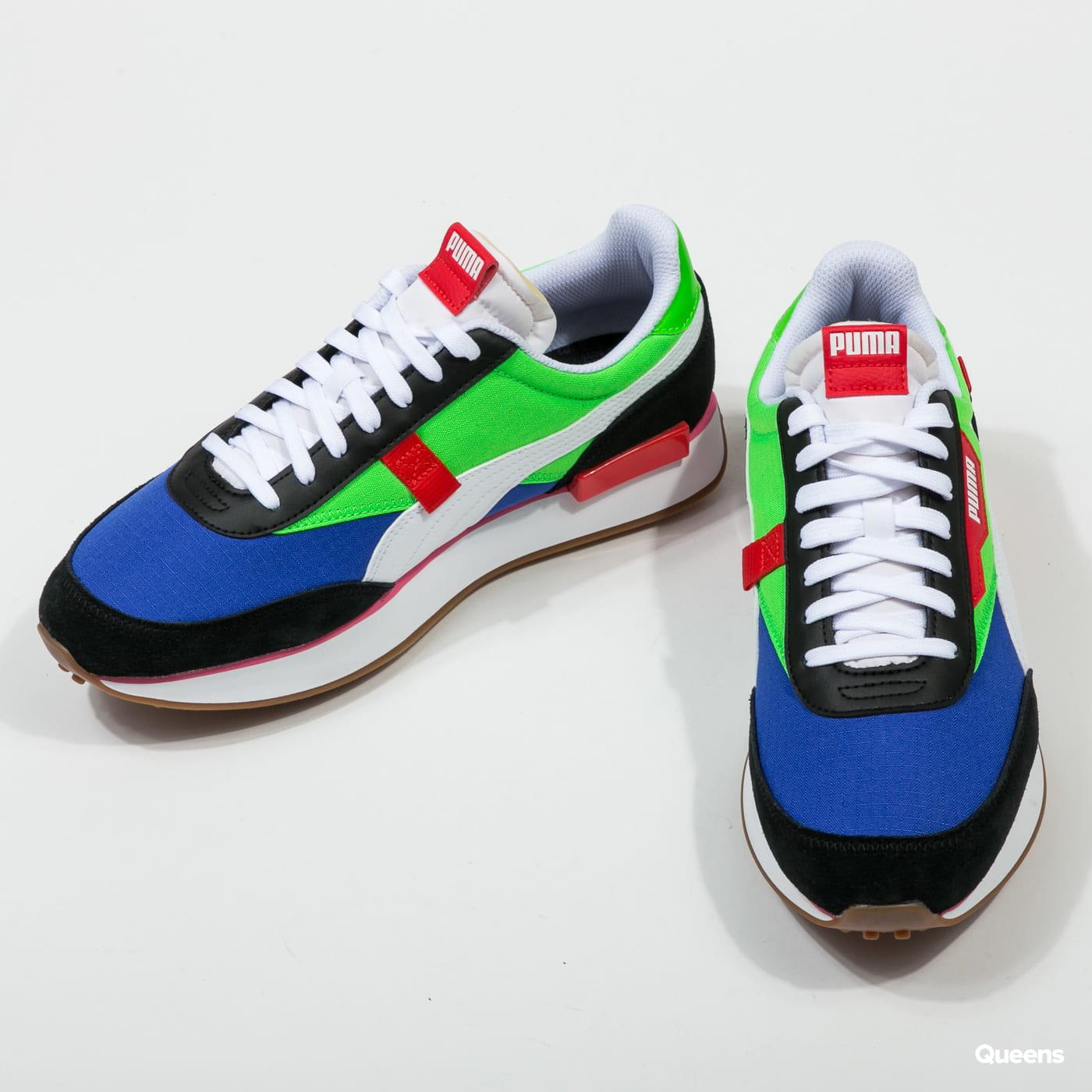 nuevo estilo de 2019 estilo moderno precios grandiosos Sneakers Puma Future Rider Play On puma black - fluo green ...