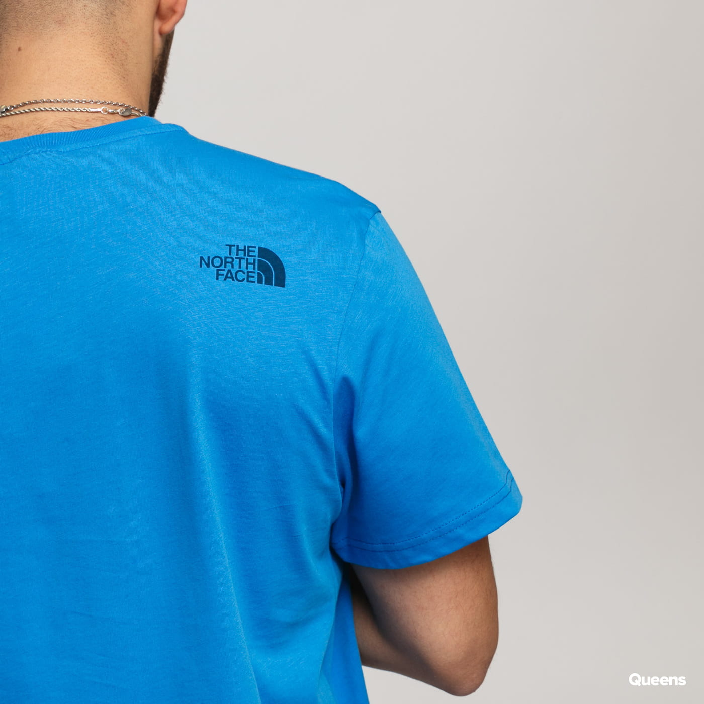 The North Face M SS Simple Dome Tee blue