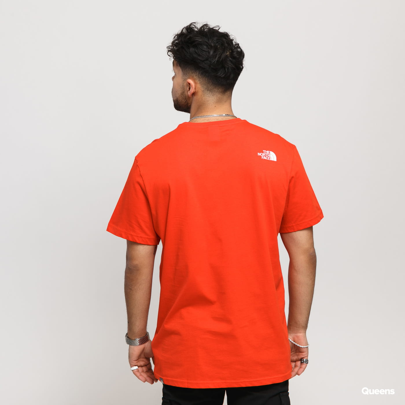 The North Face M SS Simple Dome Tee red