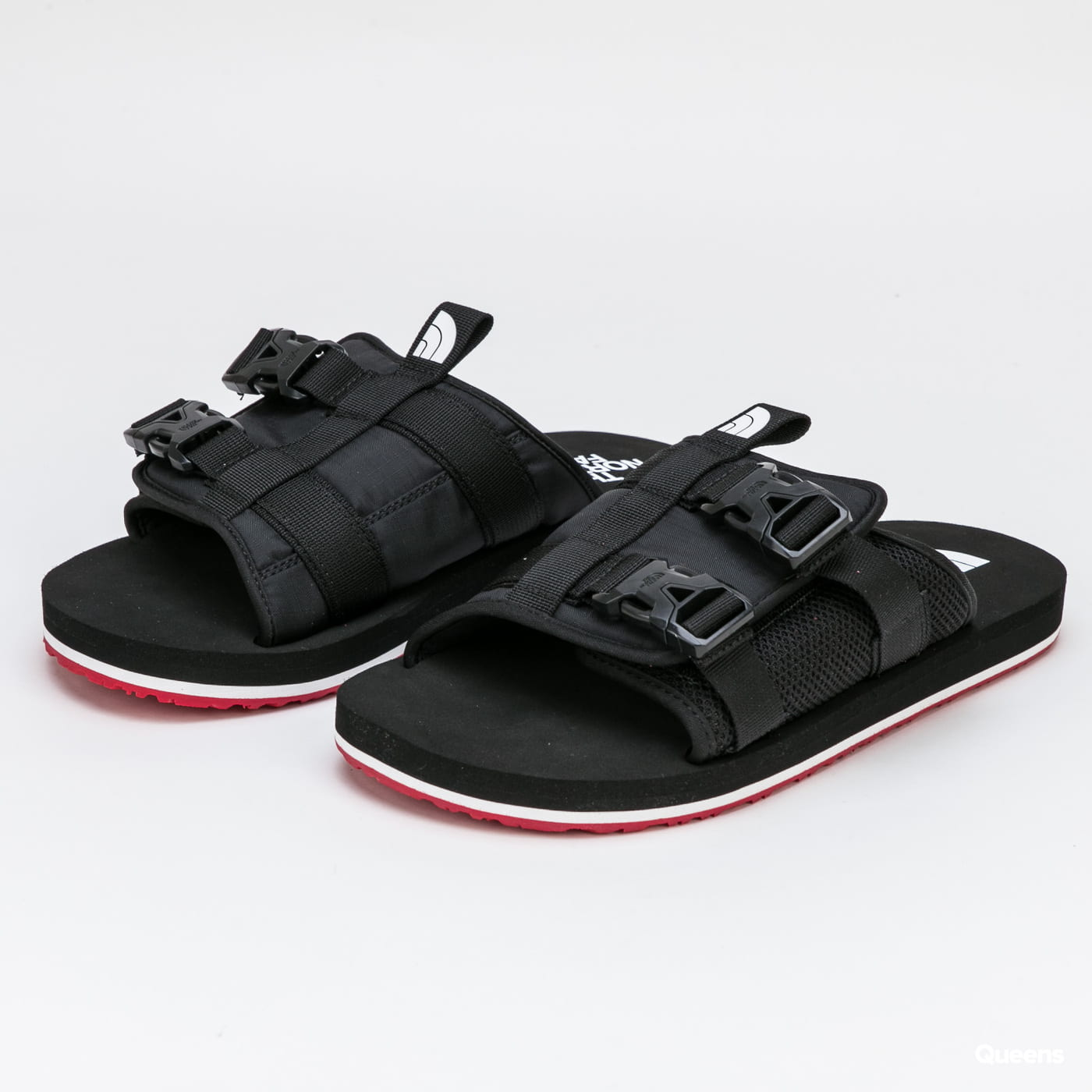 The North Face Men's EQBC Slide tnf black / fiery red